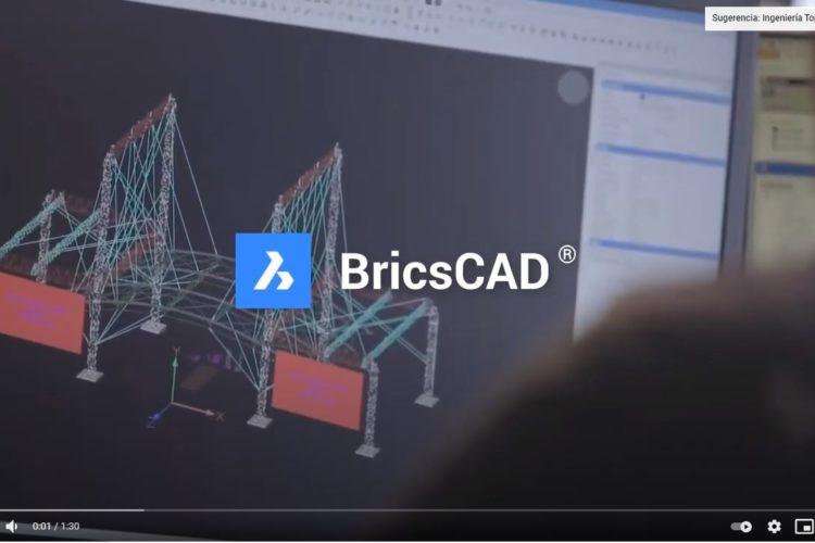 Video BricsCAD Lite: Software CAD para dibujar en 2D